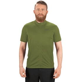 Cube Tour Core Maglia a maniche corte con zip intera Uomo, green